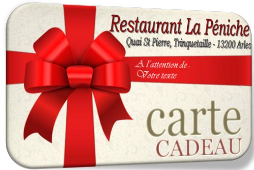 carte cadeau restaurant restaurant la p niche. Black Bedroom Furniture Sets. Home Design Ideas