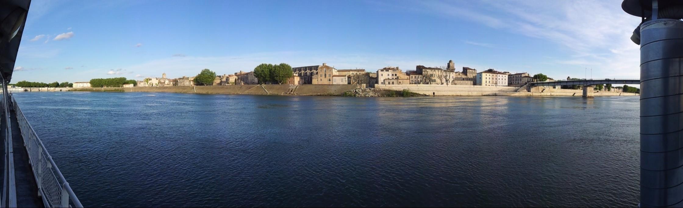 Vue sur l'Arles Historique