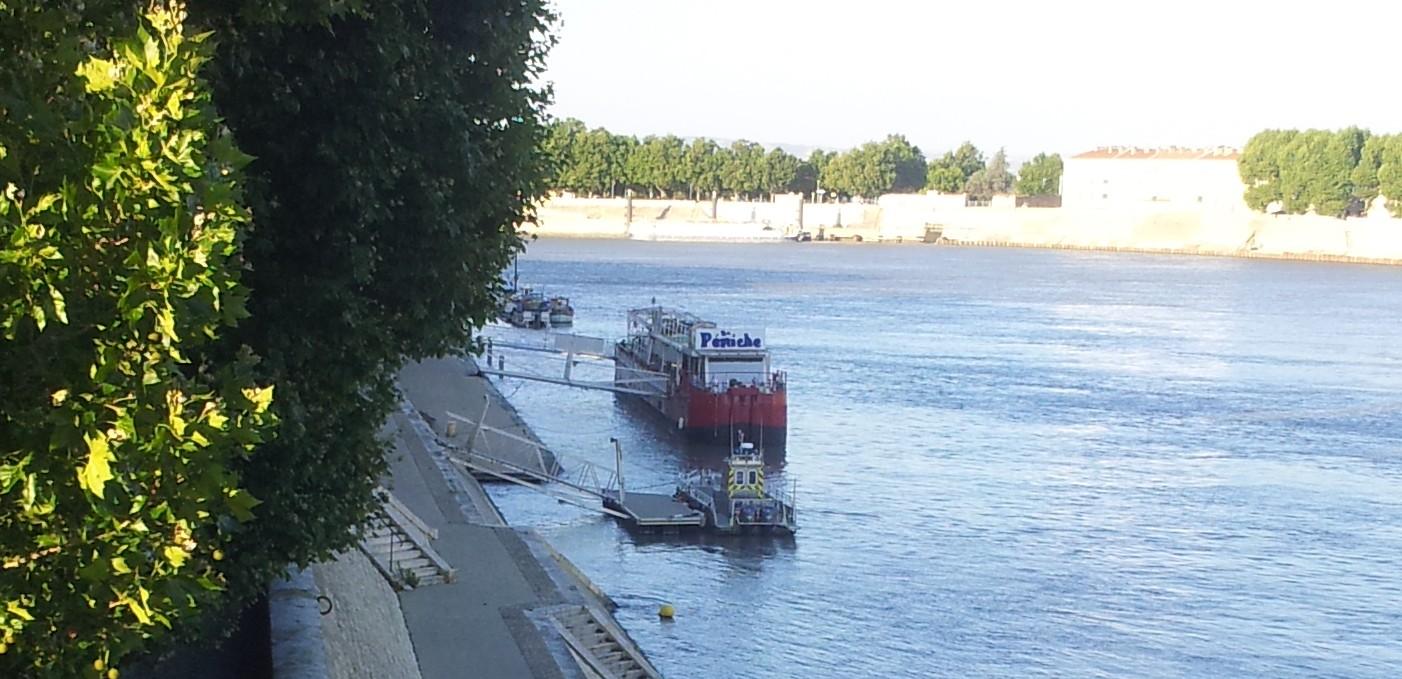 La seule sur le grand Rhône!