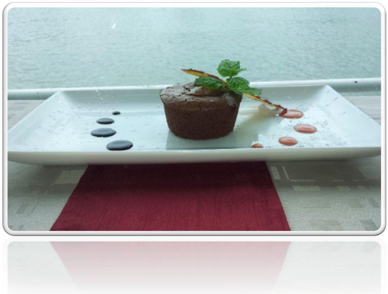 Coulant au chocolat - Dessert de la Péniche
